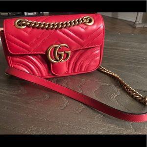 Gucci - GG Mormont small Matelassé.